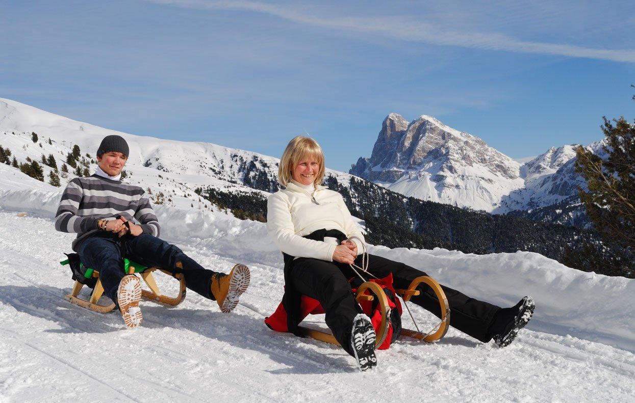 Genießen Sie die weiße Pracht in Südtirol